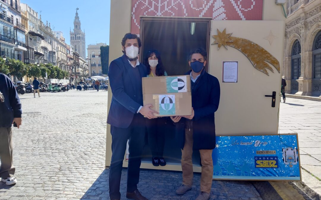 Las mascarillas Optima Sense en Cadena Ser Sevilla