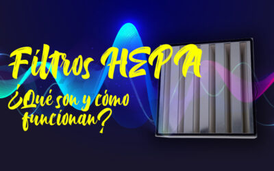 Filtros HEPA, ¿qué son y cómo funcionan?